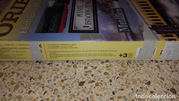 Trenes Escala: PEQUETREN ORIENT EXPRESS, TREN ANTIGUO, VALTOY ORIENT EXPRESS, TREN DE JUGUETE, - Foto 10 - 140163850