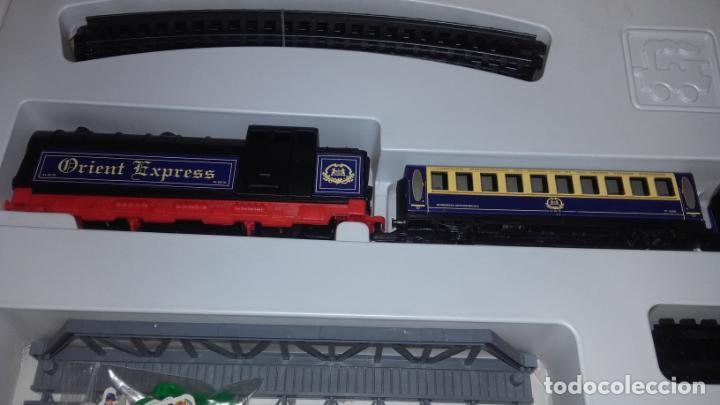 Trenes Escala: PEQUETREN ORIENT EXPRESS, TREN ANTIGUO, VALTOY ORIENT EXPRESS, TREN DE JUGUETE, - Foto 13 - 140163850
