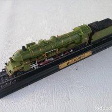Trenes Escala: MAQUETA DE LOCOMOTORA DE TREN 241 C CIGARE PLM. Lote 140305278