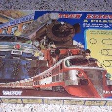 Trenes Escala: TREN VALTOY VALENCIANA DE JUGUETES, TREN ANTIGUO, TREN DE JUGUETE,. Lote 141089066