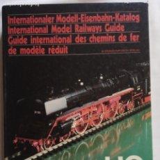 Trenes Escala: LIBRO FERROCARRILES - CATÁLOGO HO GUIA INTERNACIONAL - 78/79.. Lote 141480118