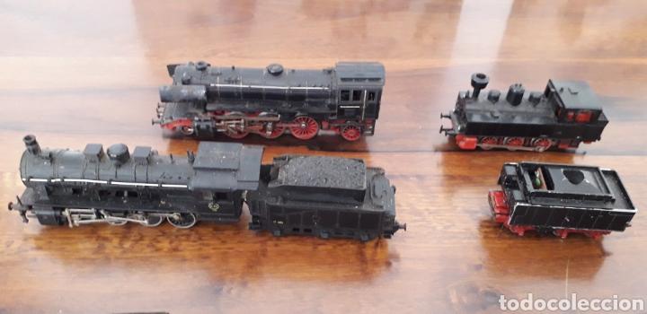 Trenes Escala: Máquinas y vagones de tren. Made in germany - Foto 2 - 141560596