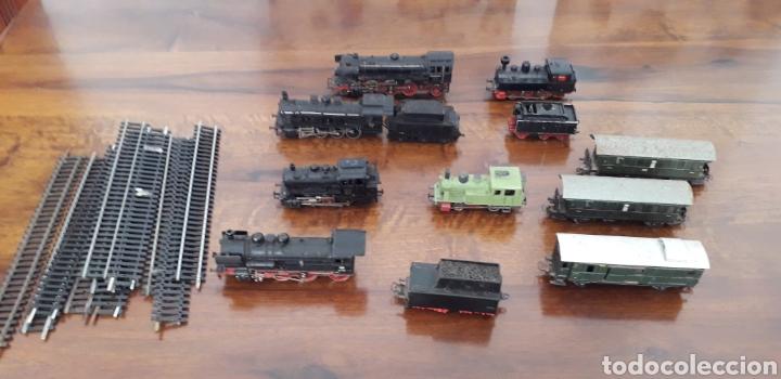 Trenes Escala: Máquinas y vagones de tren. Made in germany - Foto 3 - 141560596