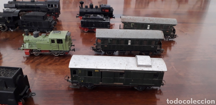 Trenes Escala: Máquinas y vagones de tren. Made in germany - Foto 4 - 141560596