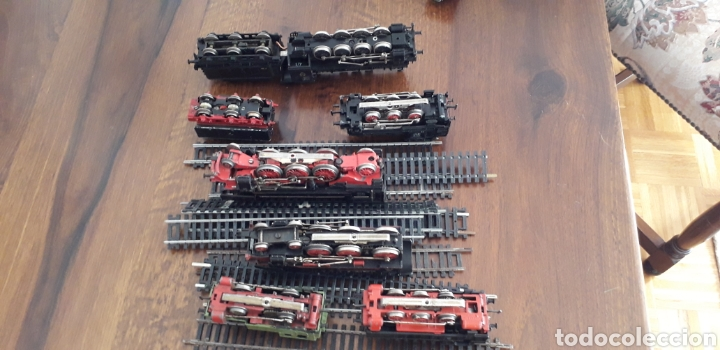 Trenes Escala: Máquinas y vagones de tren. Made in germany - Foto 5 - 141560596