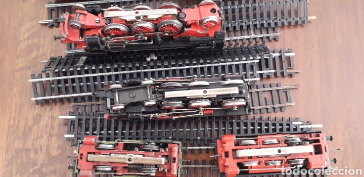 Trenes Escala: Máquinas y vagones de tren. Made in germany - Foto 6 - 141560596