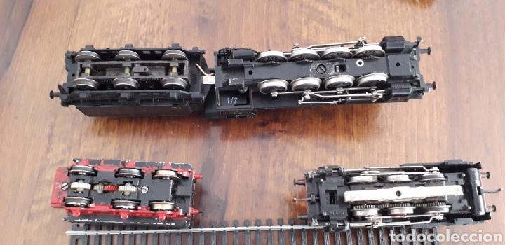 Trenes Escala: Máquinas y vagones de tren. Made in germany - Foto 7 - 141560596