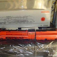Trenes Escala: MARKLIN H0. LOCOMOTORA VAPOR 37082, DIGITAL Y SONIDO.. Lote 141773642
