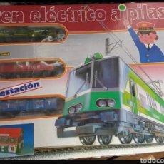 Trenes Escala: TREN ELECTRICO A PILAS PEKETREN. Lote 142448314