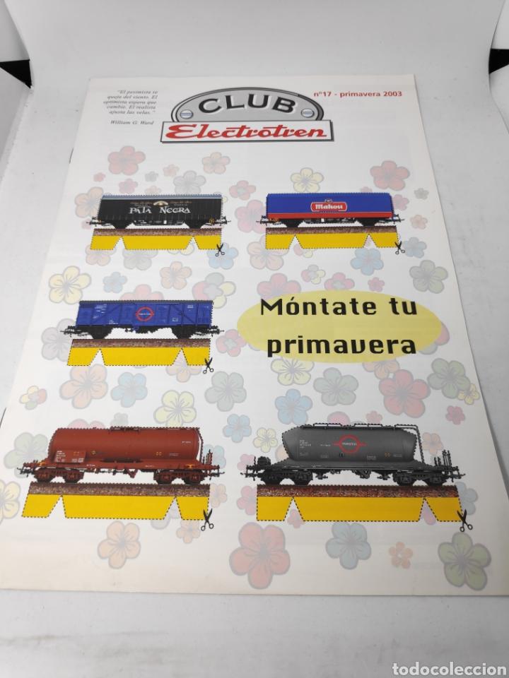 CLUB ELECTROTREN FASCÍCULO N°17 PRIMAVERA 2003 (Juguetes - Trenes - Varios)
