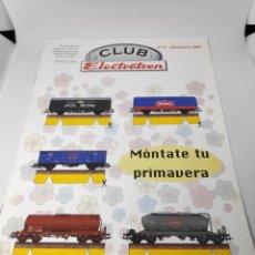 Trenes Escala: CLUB ELECTROTREN FASCÍCULO N°17 PRIMAVERA 2003. Lote 142547504