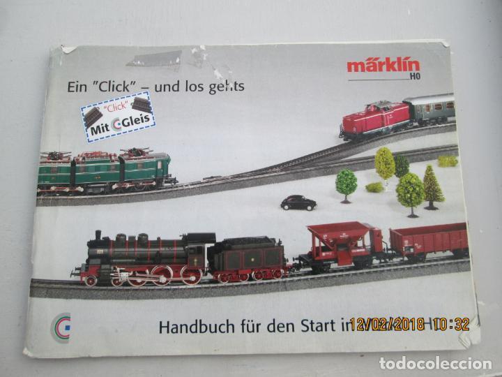 9859c7646d33 4 fotos CATALOGO MARKLIN TRENES - AÑOS 60 - ILUSTRACIONES - EN ALEMÁN  ,FRANCÉS E INGLÉS.