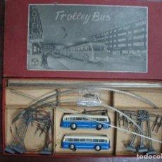 Trenes Escala: TROLEBUS BRAWA 1ª EPOCA H0 AÑOS 50. Lote 143151686