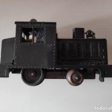 Trenes Escala: ANTIGUA MÁQUINA DE MANIOBRAS. Lote 143325230