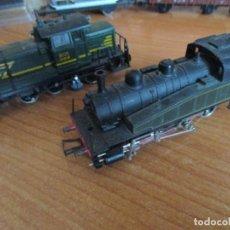 Treni in Scala: LOTE DE LOCOMOTORAS JOUEF H0: SNCF 040-TA-28 BATIGNOLLES Y A.B.R 8025 (ESTA ULTIMA CON DEFECTO). Lote 143400718