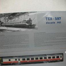 Trenes Escala: AUTOMOTOR TER VERSION REGIONALES CORRIENTE CONTINUA H0. Lote 144080674