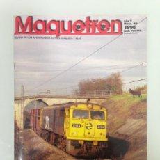 Trenes Escala: MAQUETREN 45,POSTER,ESCALAS Y GALGAS III-IV,276, RARA AVE,CORREDOR MEDITERRANEO Y ARCO,TREN DE PALAU. Lote 144928314