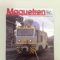 Trenes Escala: MAQUETREN 46,POSTER,ESCALAS Y GALGAS V-VI,LA HULLERA VASCO LEONESA Nº3,LAS 1.600,GRANADA FC. Lote 144928846