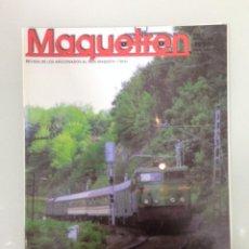 Trenes Escala: MAQUETREN 48, POSTER, GALGAS Y ESCALAS RESUMEN,ORDUÑA,TREN A LAS NUBES,DEL TGV AL AVE, METRO VALLÉS. Lote 144929930
