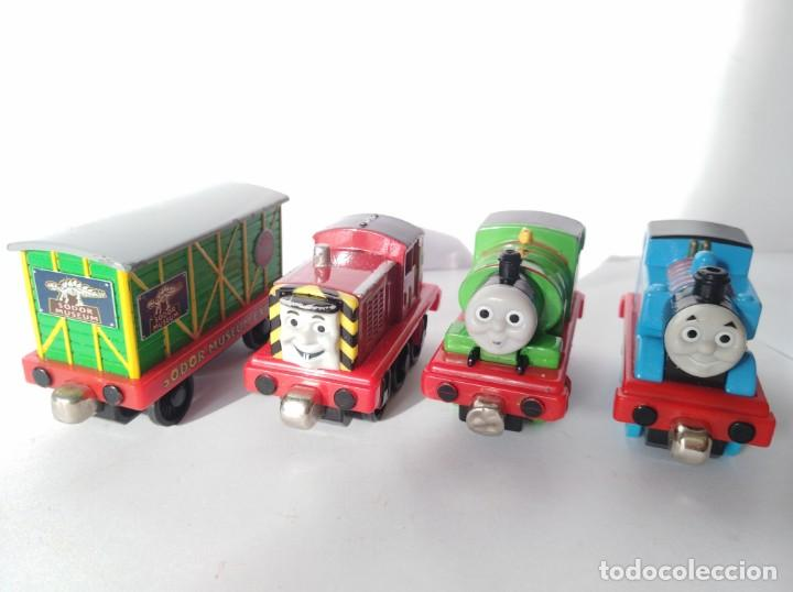 Lote trenes thomas y sus amigos tren vagon loco - Sold through ...