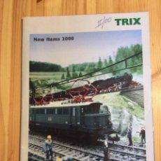 Trenes Escala: TRIX NEW ITEMS 2000 TRENES. Lote 145171298