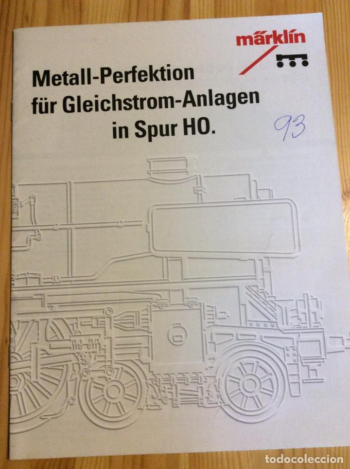 METALL PERFEKTION TRENES HO MARKLIN (Juguetes - Trenes - Varios)