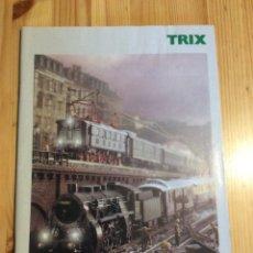Trenes Escala: CATALOGO TRENES TRIX 2002. Lote 145171840
