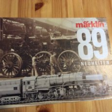 Trenes Escala: CATALOGO MARKLIN TRENES 1989. Lote 145171961
