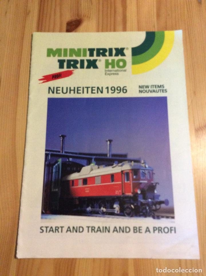 CATALOGO TRENES MINITRIX TRIX HOM1996 (Juguetes - Trenes - Varios)