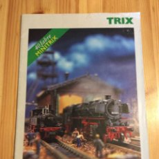 Trenes Escala: CATALOGO TRENES TRIX MINITRIX 40 ANIVERSARIO 1999. Lote 145172464