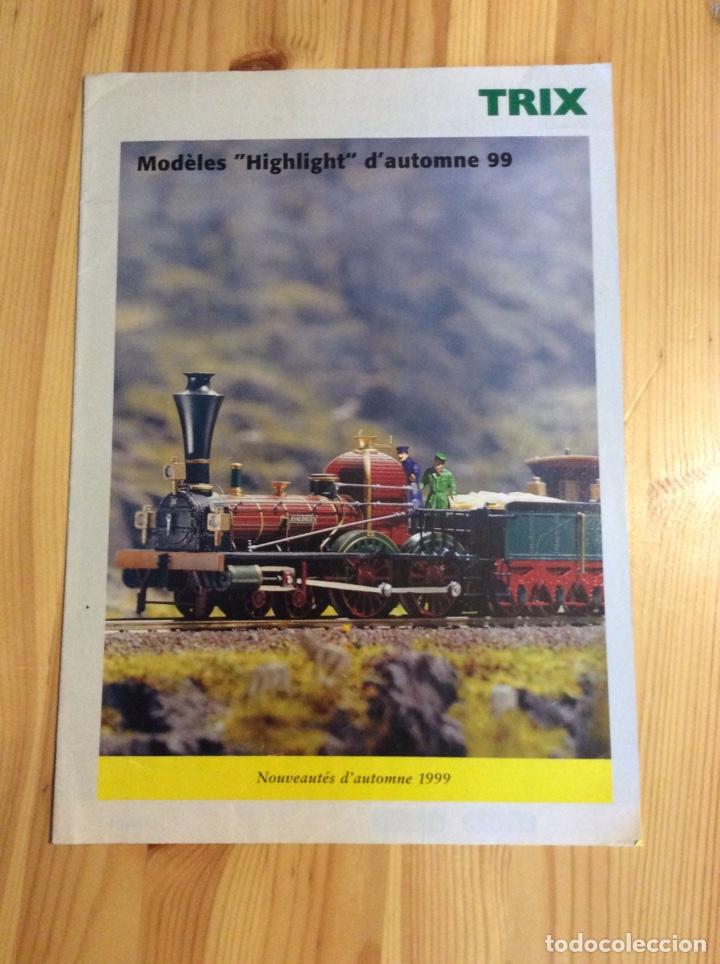 CATALOGO TRENES TRIX 1999 (Juguetes - Trenes - Varios)
