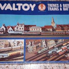 Trenes Escala: TREN VALTOY 3 , VALENCIANA DE JUGUETES, TREN ANTIGUO, JUGUETE ANTIGUO. Lote 145290278