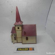 Trenes Escala: IGLESIA ESCALA HO DE FALLER . Lote 145843754