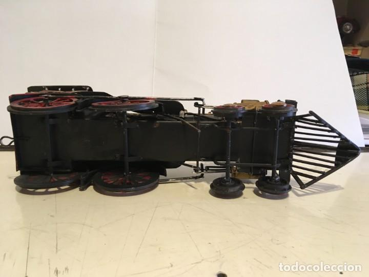 Trenes Escala: Antigua locomotora de tren de metal - Foto 7 - 146051482
