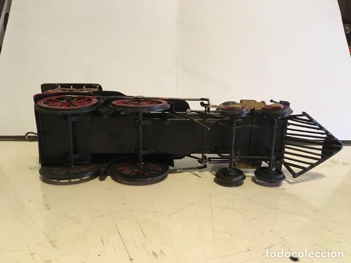 Trenes Escala: Antigua locomotora de tren de metal - Foto 8 - 146051482