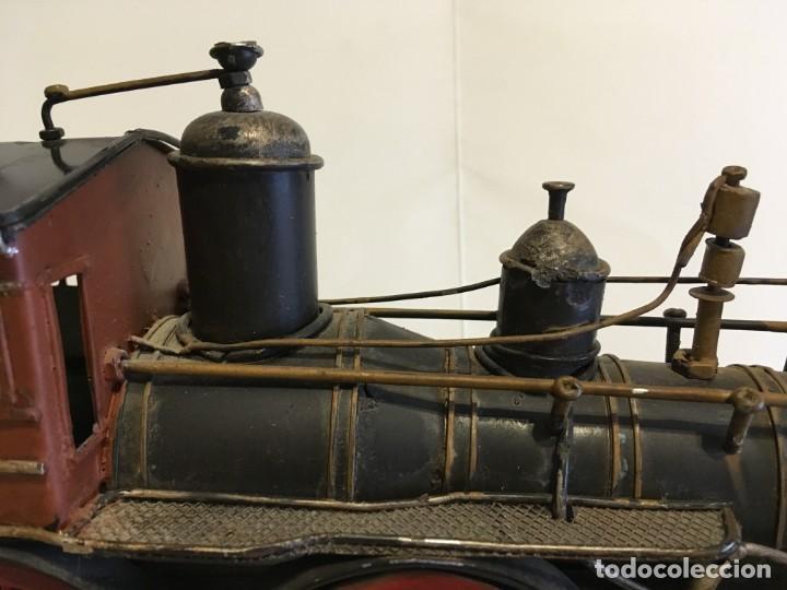 Trenes Escala: Antigua locomotora de tren de metal - Foto 10 - 146051482