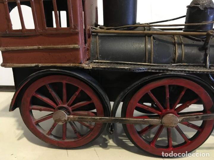 Trenes Escala: Antigua locomotora de tren de metal - Foto 11 - 146051482