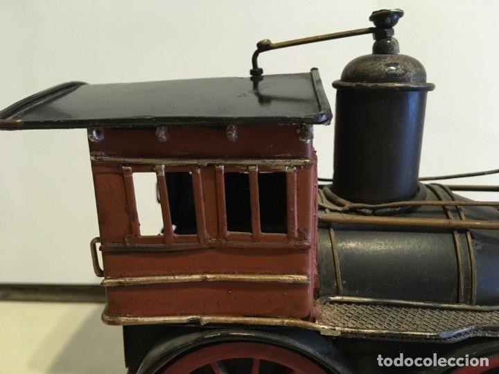 Trenes Escala: Antigua locomotora de tren de metal - Foto 12 - 146051482