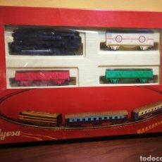 Trenes Escala: FERROCARRIL JYESA H0. A PILAS. Lote 147198310