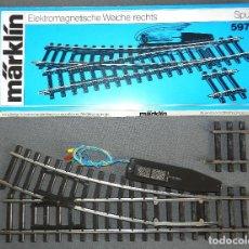 Trenes Escala: DESVÍO MARKLIN ESCALA 1 5973.. Lote 147528866