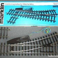 Trenes Escala: DESVÍO MARKLIN ESCALA 1 5972.. Lote 147528994