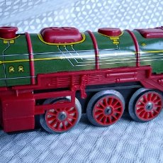 Trenes Escala: TREN COMPLETO , ANTIGUO ESPAÑOL , MARCA PAYA. Lote 147586961