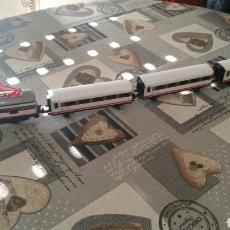 Trenes Escala: TREN PEQUETREN ALPINO 3 VAGONES Y 1 LOCOMOTORA. Lote 147597838