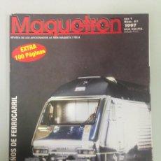 Trenes Escala: MAQUETREN 61,150 AÑOS DEL TREN EN SUIZA,LA TRACCIÓN EN SAN GOTARDO,MUSEO FERROCARRIL SUIZA . Lote 147602910