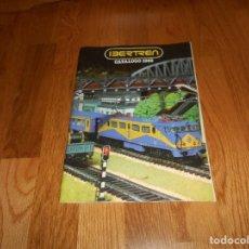 Trenes Escala: CATALOGO IBERTREN 1983 VAGONES LOCOMOTORAS ACCESORIOS ETC DE BAZAR MATEY BUEN ESTADO. Lote 147853534