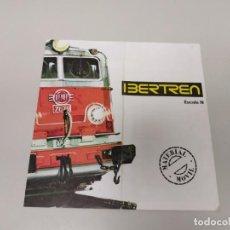 Trenes Escala: J- CATALOGO IBERTREN MATERIAL MOVIL LOCOMOTORAS/VAGONES VII-75 AÑO 1973 . Lote 148056646