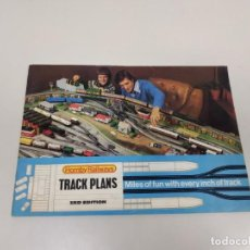 Trenes Escala: J- CATALOGO HORNBY RAILWAYS TRACK PLANS 3RD EDITION 32 PAG AÑO 1975 . Lote 148064186