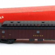 Trenes Escala: VAGÓN GRANATE JOUEF. REF 850-CON SU CAJA-AÑOS 60-70 . Lote 148544194