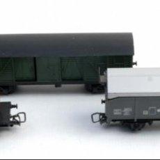 Trenes Escala: 3 VAGONES JOUEF-AÑOS 60-70. Lote 148544530
