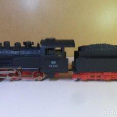 Trenes Escala: H0 - PIKO - LOCOMOTORA DE VAPOR + TENDER - NS 98002. Lote 150096626